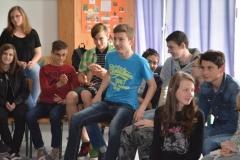 Tréningek a Batthyány Iskolában