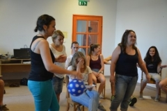 Tréningek a Táncszínházas fiatalokkal